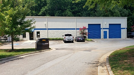 The Atlanta Chemical Supply warehouse is located in Peachtree City, GA.